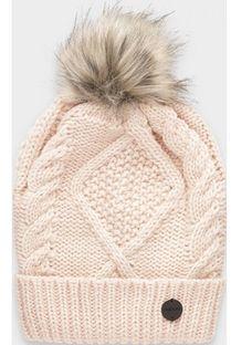 Różowa czapka zimowa damska Outhorn