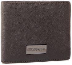 Duży Portfel Męski TRUSSARDI JEANS -  Wallet Credit Card 71W00137 B290