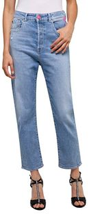 REPLAY TYNA - Jeansy Straight Leg - niebieski denim