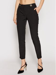 Trussardi Jeans Spodnie materiałowe 56P00180 Czarny Regular Fit