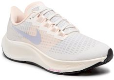 Buty NIKE -  Air Zoom Pegasus 37 BQ9647 102 Pale Ivory/Ghost/Barely Wolt