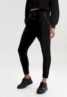 Czarne Spodnie Cahrera