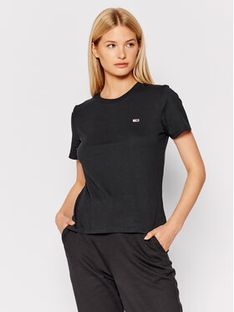 Tommy Jeans T-Shirt Tjw Jersey DW0DW09198 Czarny Regular Fit