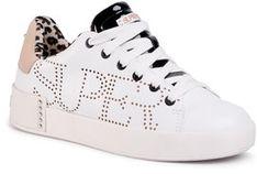 SuperTrash Sneakersy Lewi Lsr W 2011 030501 Biały