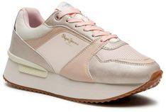 Sneakersy PEPE JEANS - Rusper Eve PLS31189 Pink Champage 304
