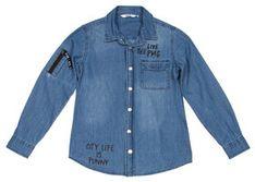 Primigi Koszula 43162001 Granatowy Regular Fit