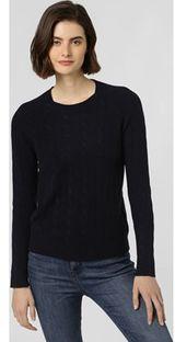 Sweter damski Franco Callegari wełniany z okrągłym dekoltem