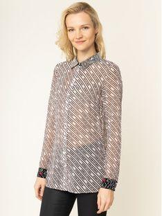 Guess Koszula Ls Leslie W01H81 WBTY0 Różowy Regular Fit