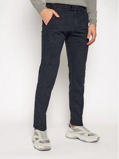 Digel Spodnie materiałowe Lago-G 1201568 Granatowy Modern Fit
