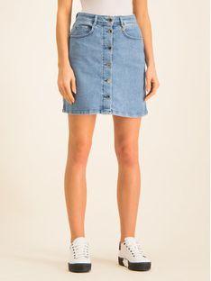 Pennyblack Spódnica jeansowa 31015119 Granatowy Regular Fit