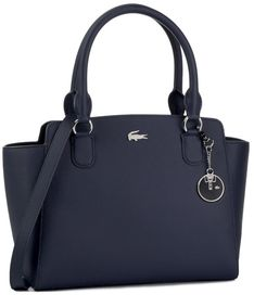 Torebka LACOSTE - M Shopping Bag NF2594DC  Peacoat