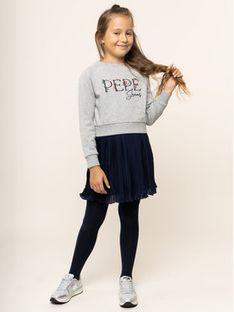 Pepe Jeans Sukienka codzienna Flora PG951286 Szary Regular Fit
