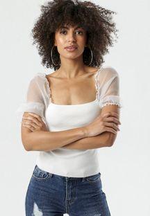 Biała Bluzka Nida