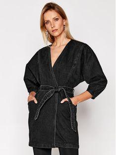 IRO Sukienka jeansowa Fairline WP33 Czarny Regular Fit