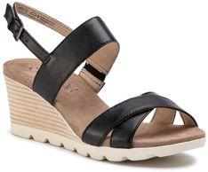 Sandały CAPRICE - 9-28316-22 Black Nappa 022