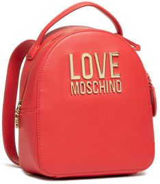 Plecak LOVE MOSCHINO - JC4101PP1CLJ050A Rosso