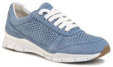 Geox Sneakersy D Sukie B D02F2B 00022 C4003 Niebieski