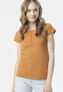 Camelowy T-shirt Oranore