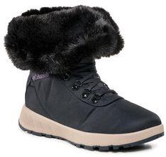 Columbia Śniegowce Slopeside Village™ Omni-Heat™ Hi BL0146 Granatowy