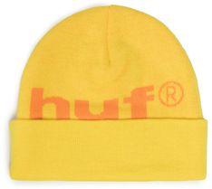 Czapka HUF - 98 Logo Beanie BN00093 Yellow