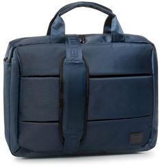 Torba na laptopa LANETTI - BMM-S-035-90-03 Cobalt Blue