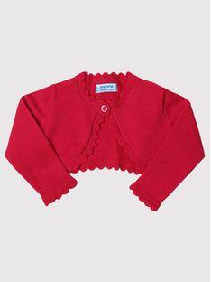 Mayoral Sweter 306 Różowy Regular Fit
