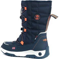 Buty zimowe dziecięce Trollkids granatowe polarowe