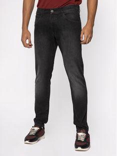 Wrangler Jeansy Skinny Fit Bryson W14XHT120 Szary Skinny Fit