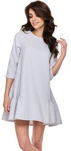 Sukienka Ptakmoda.com mini na co dzień z okrągłym dekoltem