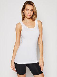 Triumph Top Katia Basics 10181826 Biały Slim Fit