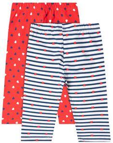 Primigi Komplet 2 par legginsów East Wear Boy 45126042 Kolorowy Slim Fit
