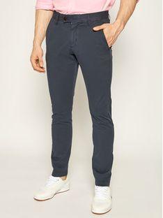 Strellson Spodnie materiałowe 11 Code-D 30020082 Granatowy Slim Fit