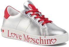 Sneakersy LOVE MOSCHINO - JA15033G1AIB190A  Arge/Vit.Ro