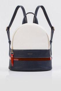Dwukolorowy plecak z lamówką