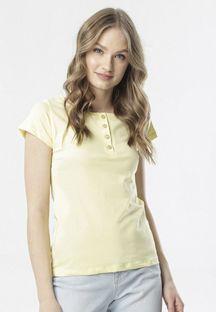 Jasnożółty T-shirt Oranore