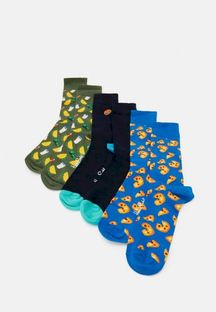 HAPPY SOCKS - JUNK FOOD SOCKS GIFT 3 PACK - Skarpety - wielokolorowy