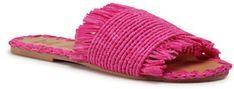 Manebi Klapki Leather Sandals S 1.7 Y0 Różowy