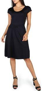 Sukienka Emporio Armani bez wzorów z krótkim rękawem mini