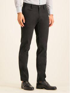 Digel Spodnie materiałowe 88140 Czarny Regular Fit