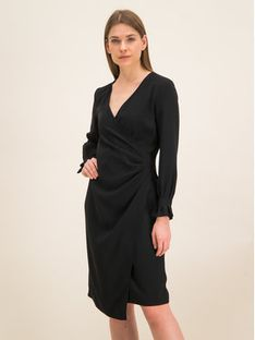 iBlues Sukienka koktajlowa 72262996 Czarny Regular Fit