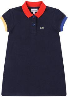 Lacoste Sukienka codzienna EJ5190 Granatowy Regular Fit