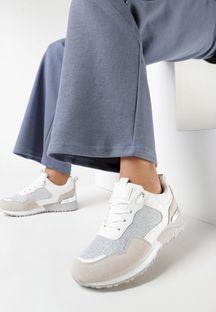Białe Buty Sportowe Saphielle