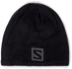 Czapka SALOMON - Logo Beanie 366850 10 S0 Black