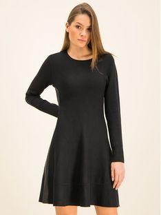 DKNY Sukienka dzianinowa P9HO8256 Czarny Regular Fit