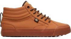 Trampki męskie pomarańczowe Dc Shoes na wiosnę sznurowane młodzieżowe