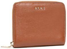 Mały Portfel Damski DKNY - Bryant-Sm Zip Around R8313656 Caramel 237