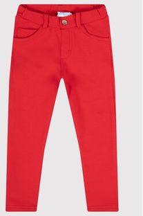 Mayoral Spodnie materiałowe 560 Czerwony Super Skinny Fit