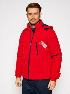 Tommy Jeans Kurtka zimowa Czerwony DM0DM08761 Czerwony Regular Fit