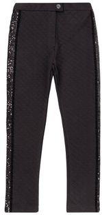 Primigi Spodnie materiałowe BLACK COUTURE Black Party 44123601 Czarny Regular Fit