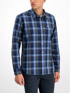 Pepe Jeans Koszula Harry PM305894 Granatowy Regular Fit